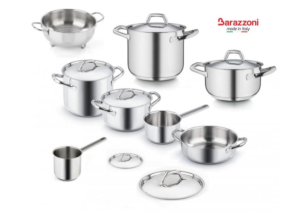 Barazzoni  Chef Line  Batteria di Cucina 23 pz