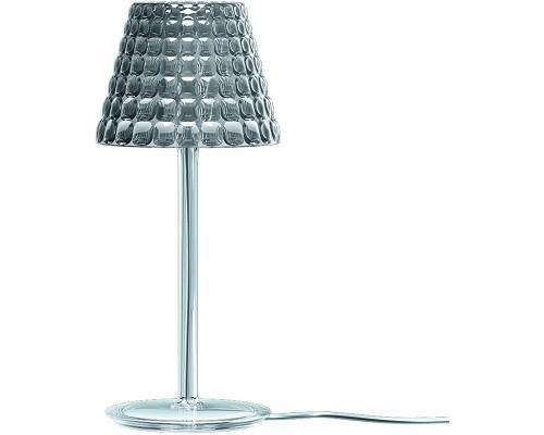 Guzzini lampada da tavolo con filo tiffany  grigio