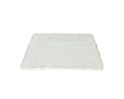 Tognana Poseidon Piatto Portata Quadro Cm 32 Bianco