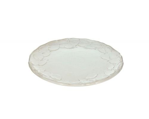 Tognana Poseidon Piatto Portata Tondo Cm 26 Bianco