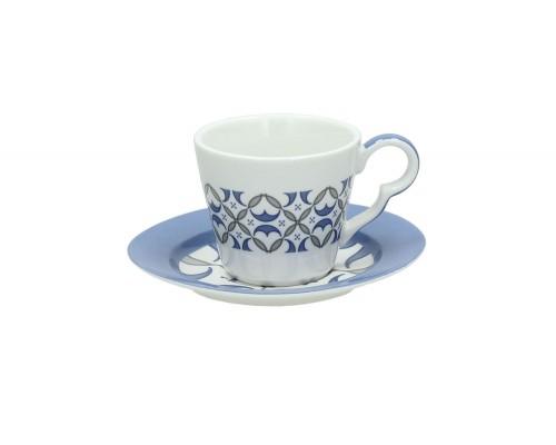 Tognana set 6 Tazzine Caffè con piatto LINEA TEA TIME