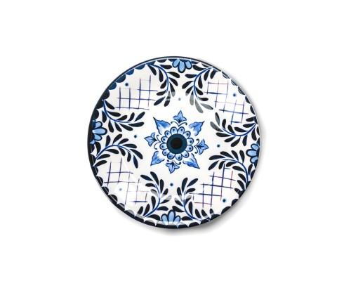 EMPORIO ZANI  servizio piatti 36 pz in ceramica Santorini