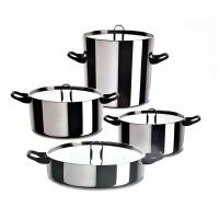 Batteria di Cucina Alessi La Cintura Di Orione 9 pezzi